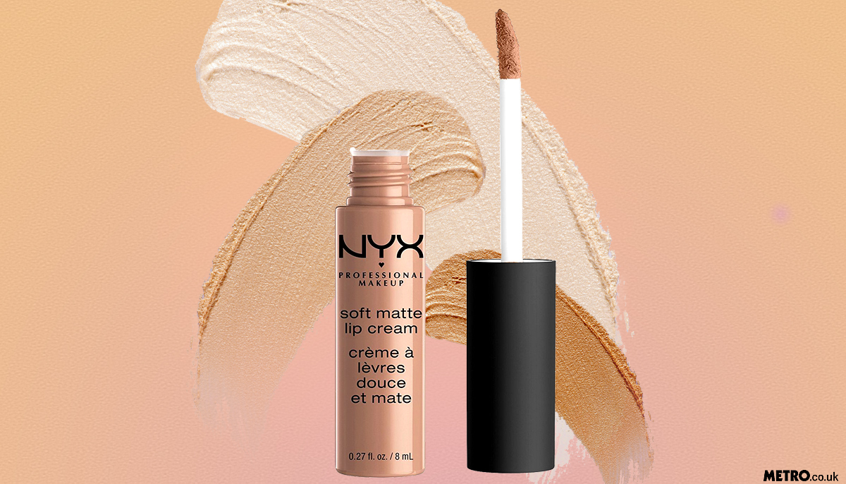 NYX's Soft Matte Lip Cream is the most pinned nude lipstick on Pinterest