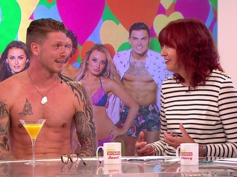 Janet Street-Porter gets a lesson in Love Island lingo from Craig Lawson and it gets salty