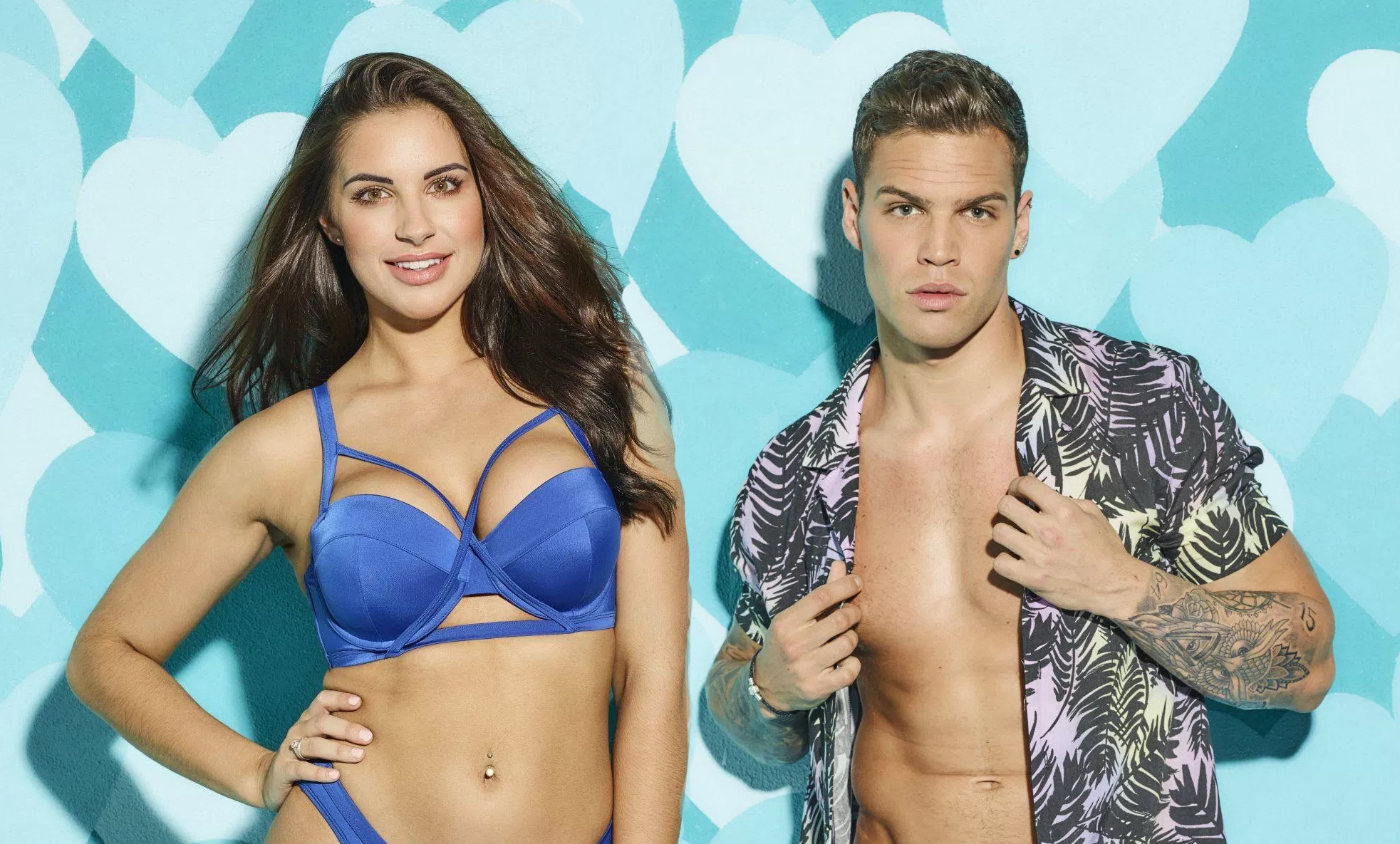 Love Island's Jess and Dom put wedding planning 'on hold' to enjoy Christmas