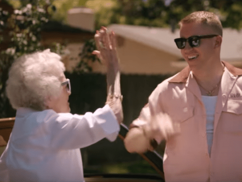 Watch Macklemore surprise his grandmother on her 100th birthday in heart warming Glorious video