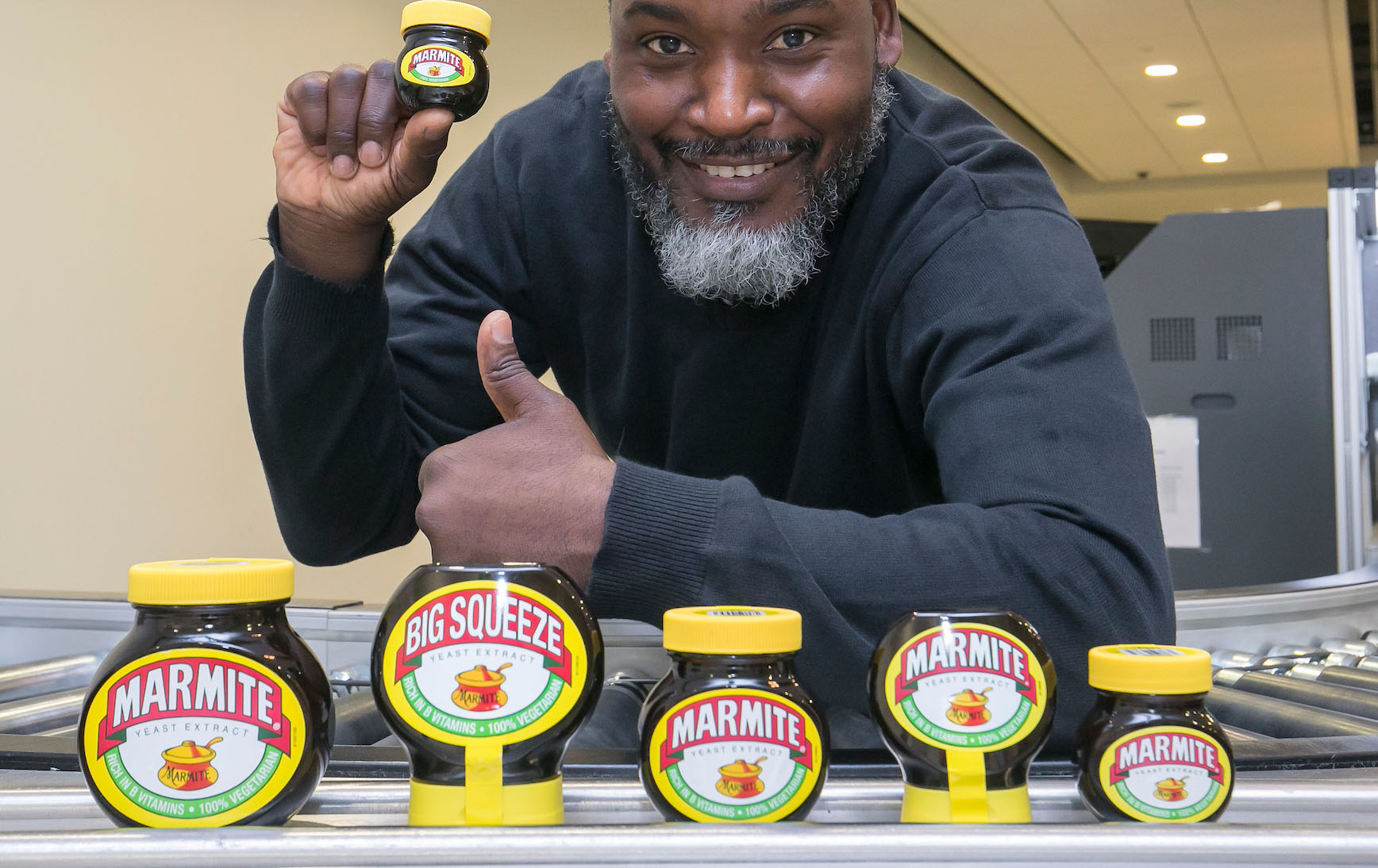 Marmite is the most-seized item at London City Airport because we clearly can't cope without it