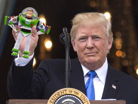 Turns out Toy Story is among the many things Donald Trump is not aware of