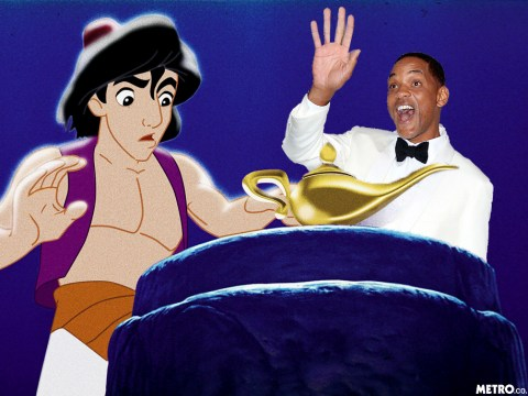 Will Smith officially cast as Genie in Disney's live-action remake of Aladdin