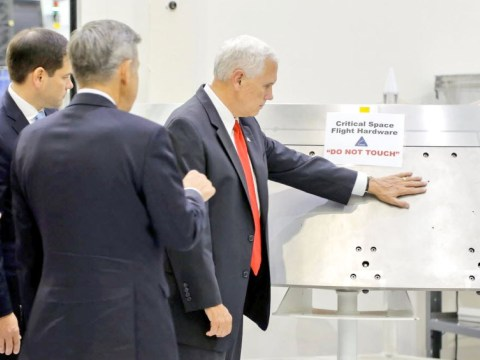 Photo of Mike Pence going rogue at NASA is an unlikely source of inspiration