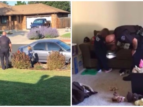 Kid asks police to check for monsters in new family home and cop is dispatched