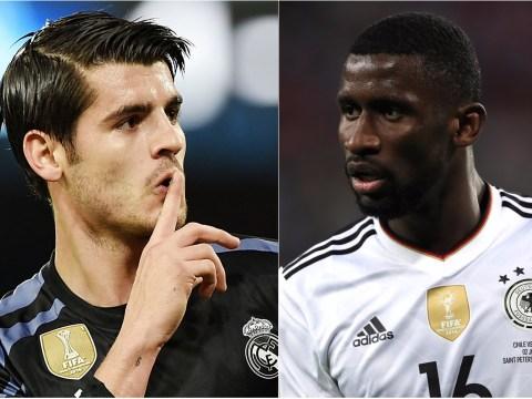 Why Antonio Rudiger will be having nightmares about facing Alvaro Morata in Chelsea training