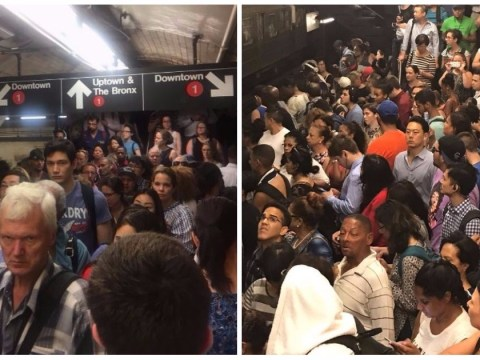 NYC subway crowds give London Underground a run for its money