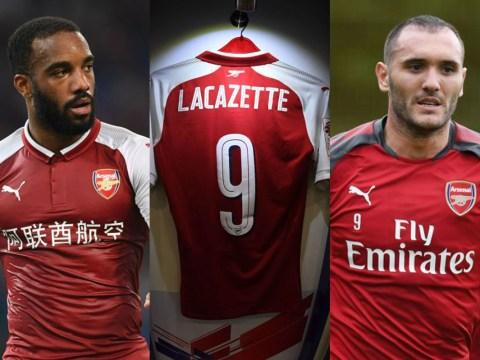 Alexandre Lacazette asked Arsene Wenger for the Arsenal No.9 shirt, claims Lucas Perez