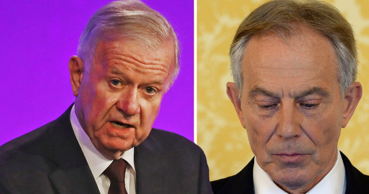 Tony Blair 'wasn't straight with the nation' on the Iraq War, says Sir John Chilcot