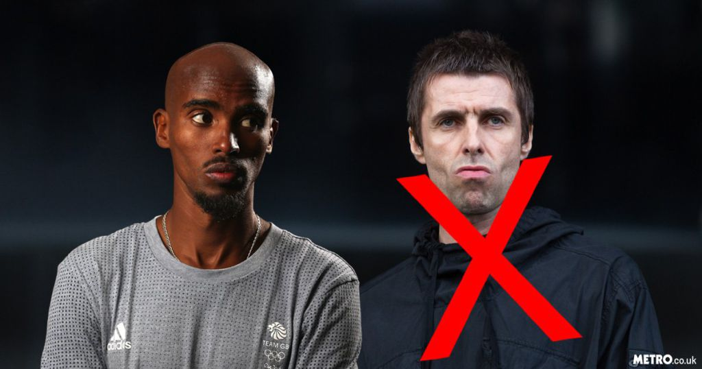 Mo Farah apologises to Noel Gallagher for Liam mix-up at U2 gig