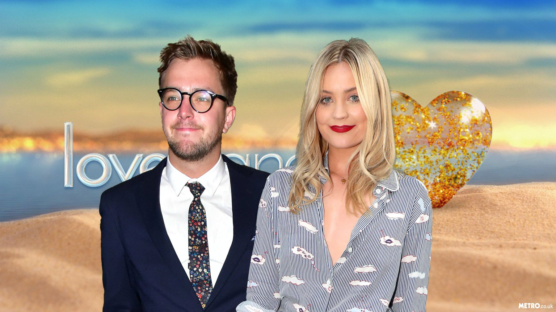 Laura Whitmore and Love Island's narrator Iain Stirling are officially an item