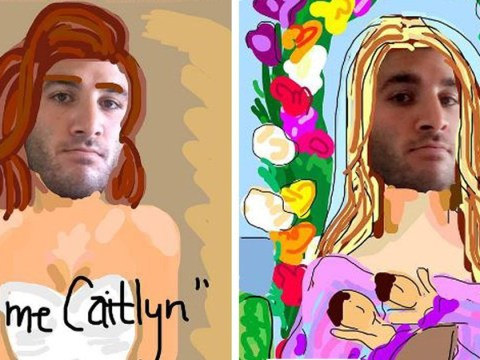 Guy recreates photos of celebrities using amazing Snapchat art