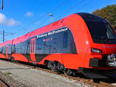 Swedish train named Trainy McTrainface as joke goes on relentlessly