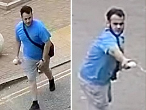 Copycat attacker 'pretends to spray acid over terrified victims'