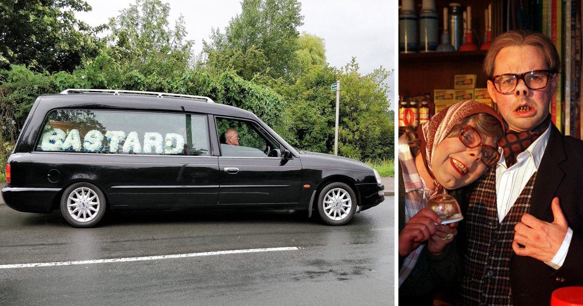 Dying League of Gentleman fan has last laugh with funeral wreath