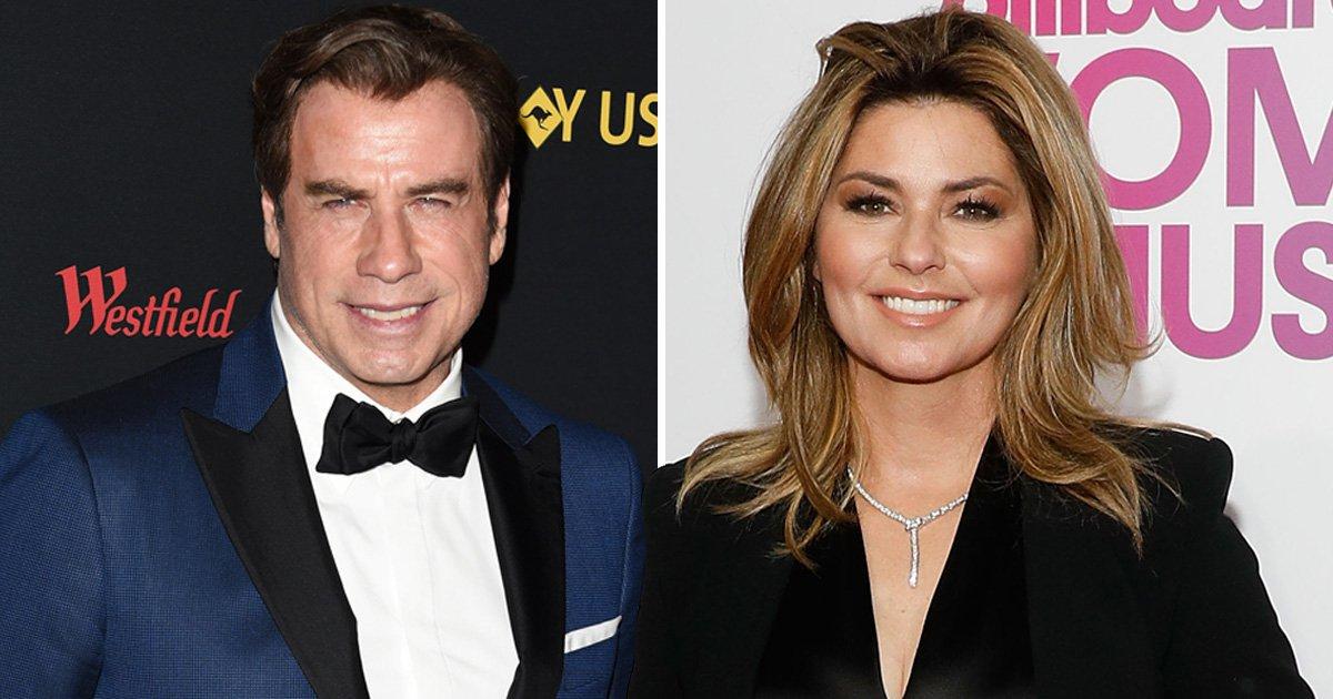 Shania Twain to 'star alongside John Travolta' in new film about racing drivers