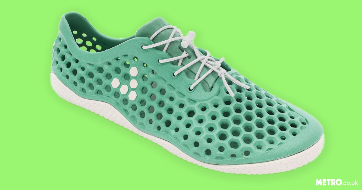 These eco-friendly shoes are made from harmful waste algae