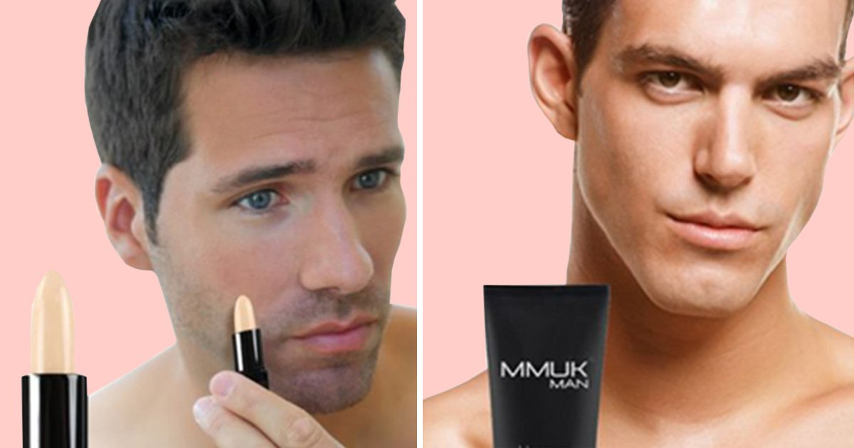 ASOS is now selling makeup for men