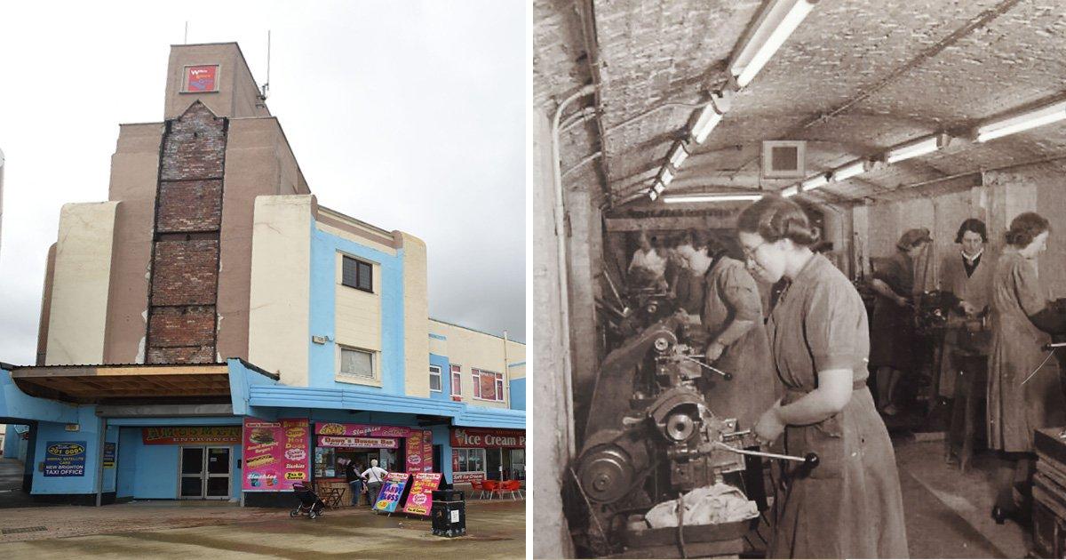 Secret WW2 weapons bunker hidden under amusement arcade opens to public