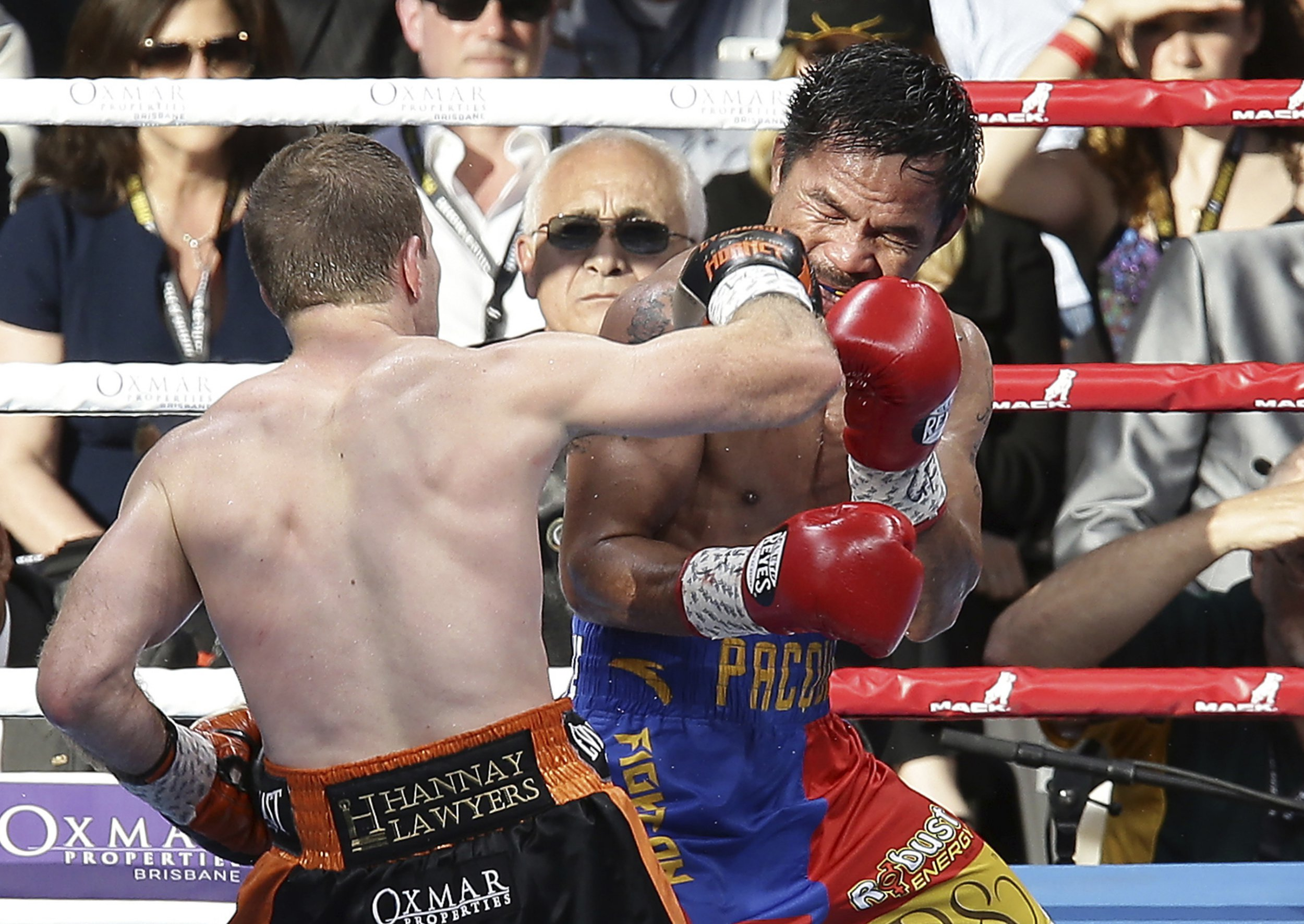 Jeff Horn was a 'pig' that 'disrespected' Manny Pacquiao, says delighted Danny Green