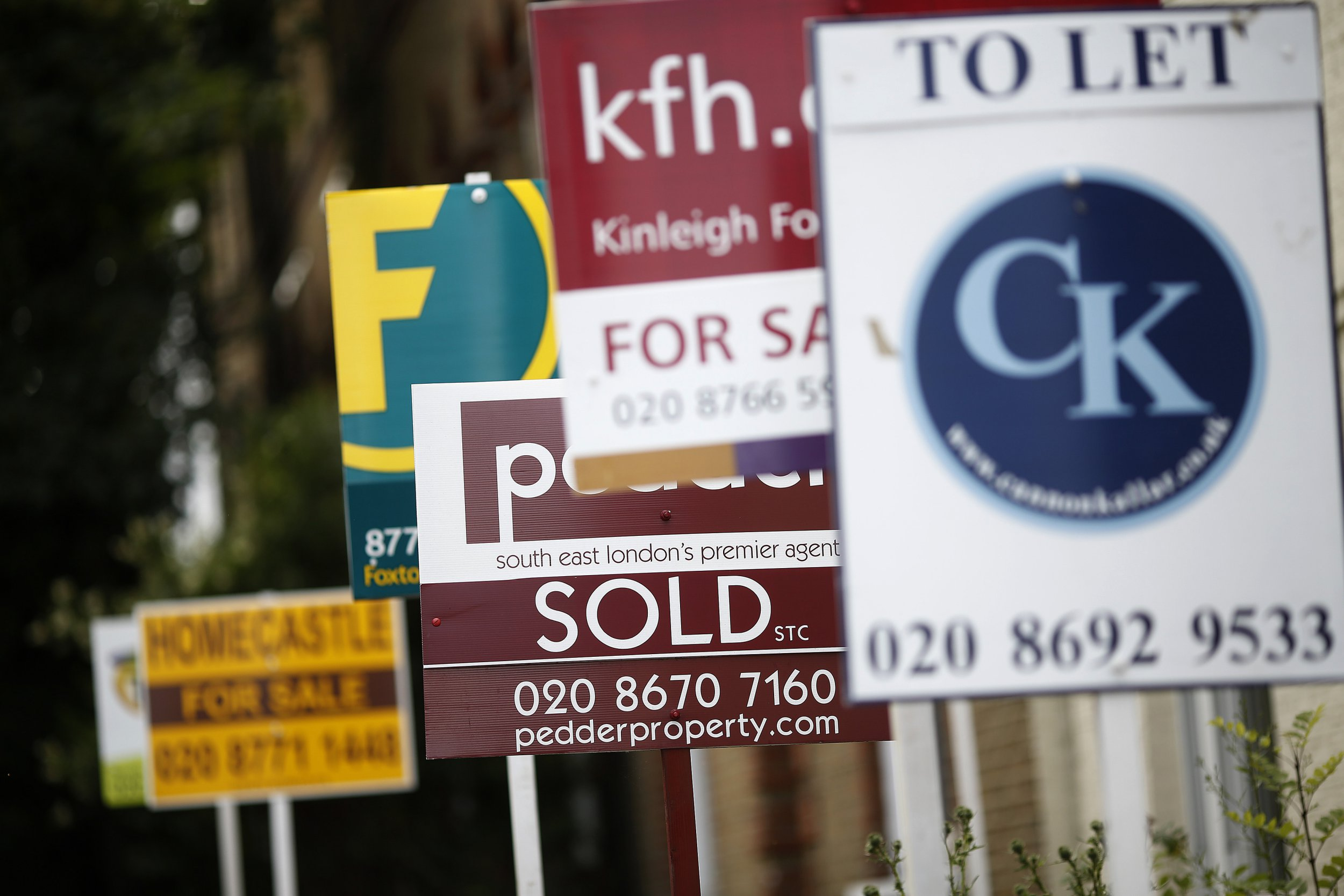 House prices are on the brink of massive collapse