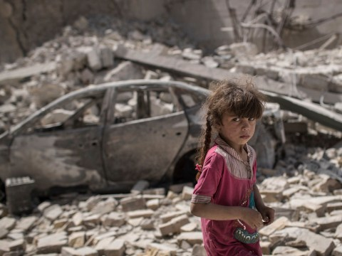 In pictures: Civilians flee as advance against Islamic State continues in Mosul