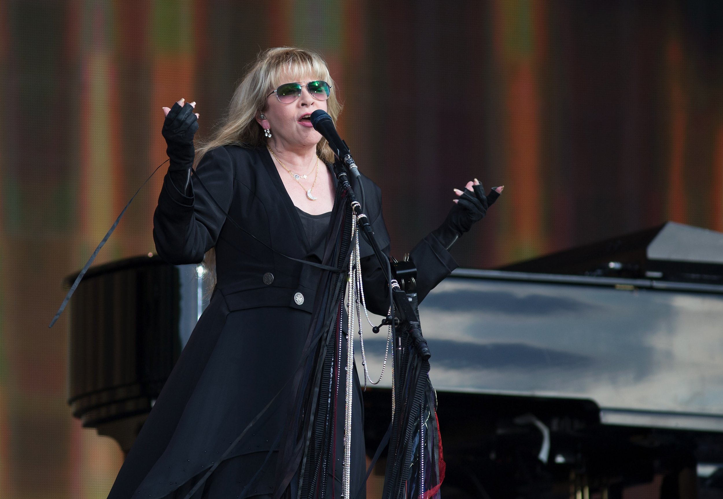 Stevie Nicks joined Tom Petty and the Heartbreakers for a surprise duet at BST Festival
