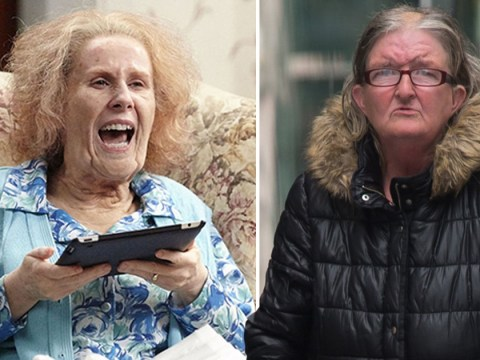 Woman dubbed 'nan' jailed after throwing dog poo in neighbour's garden