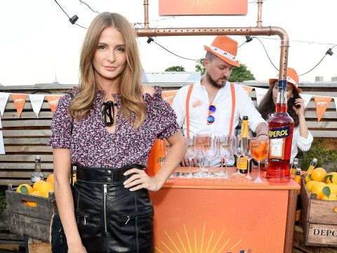 Millie Mackintosh proves she's no diva at summer party