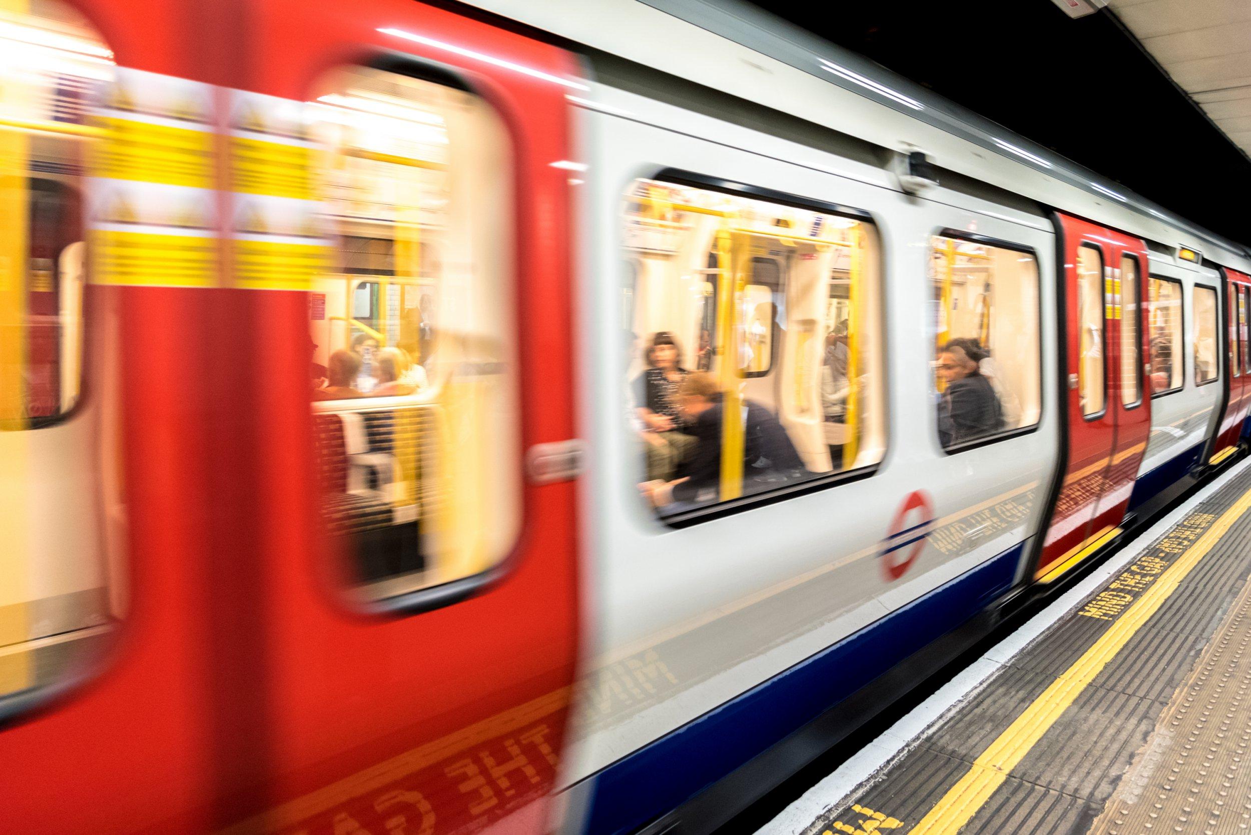 Man arrested on suspicion of sexual assaults on sleeping men on London Underground