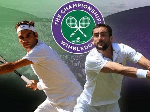 Wimbledon men's final: Roger Federer the champion
