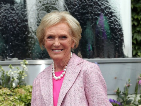 Former Great British Bake Off judge Mary Berry won't be getting botox any time soon