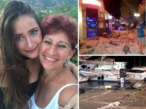 Brits caught in Kos earthquake describe horror on holiday