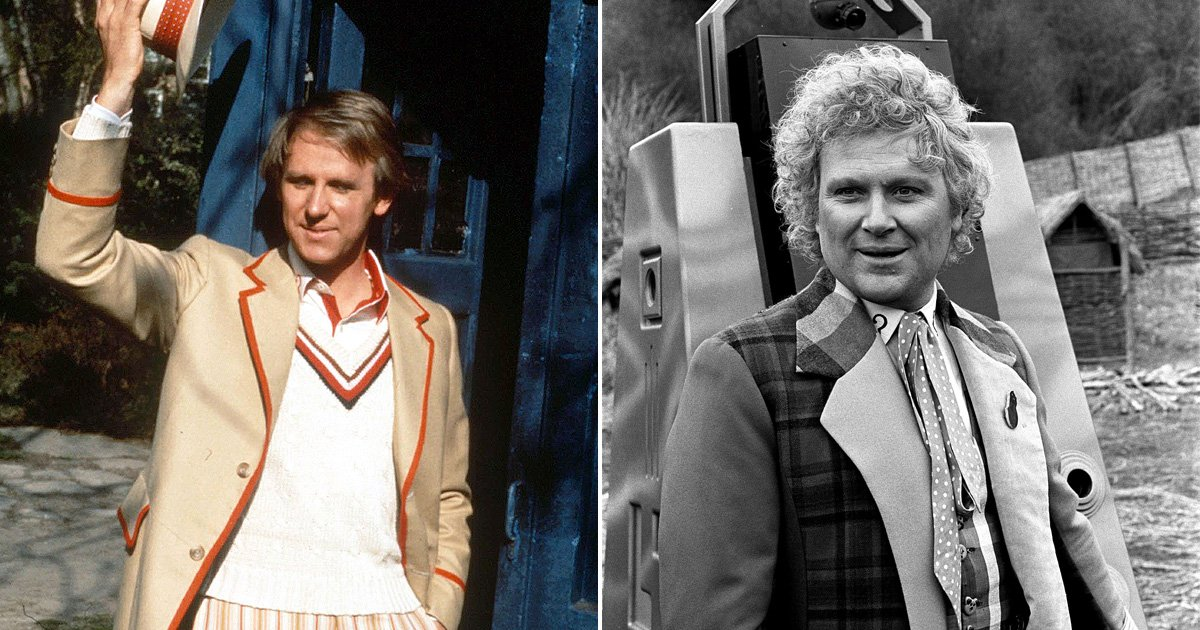 Former Time Lord Colin Baker hits outs Peter Davison's comments about a female Doctor Who as 'absolute rubbish'