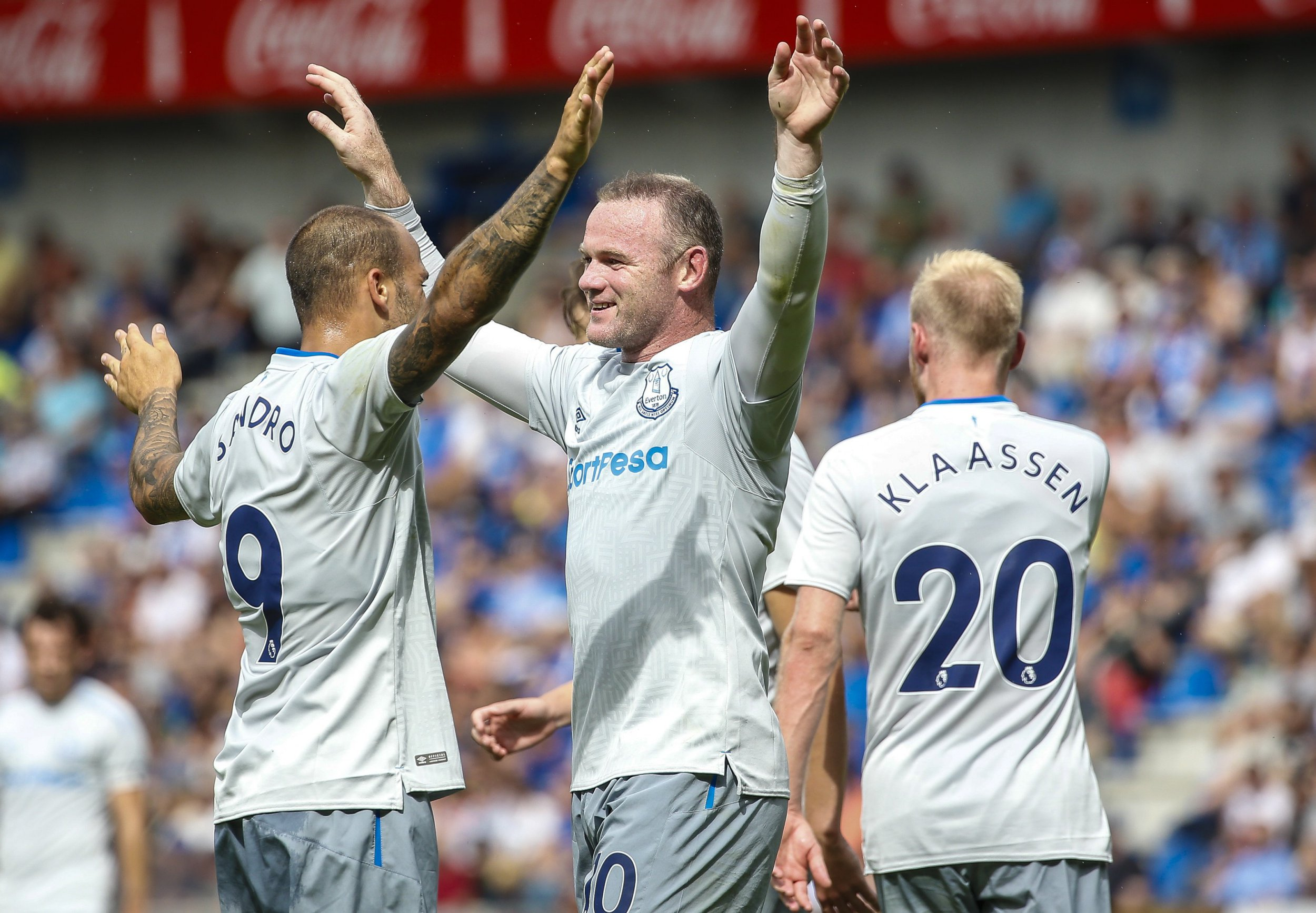 Wayne Rooney on target again as Everton draw with Genk