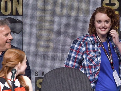 Comic-Con crowd goes wild as Barb crashes Stranger Things panel