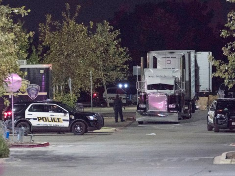 Children among eight found dead in trailer in human trafficking case