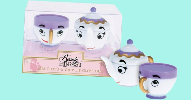 Debenhams Is Releasing A Beauty And The Beast Lip Gloss Set And It