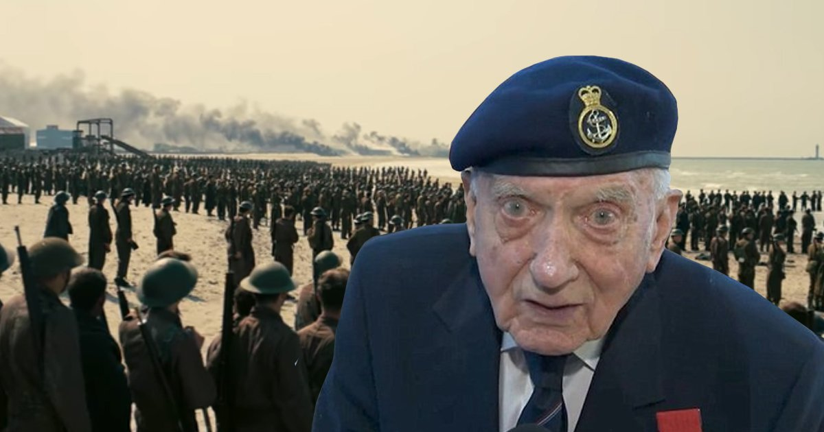 World War 2 veteran breaks down moments after watching Dunkirk and says: 'It's not the end'