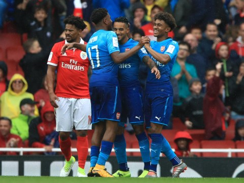 Arsenal 5-2 Benfica: Sead Kolasinac and Reiss Nelson dazzle on home debuts for rampant Gunners