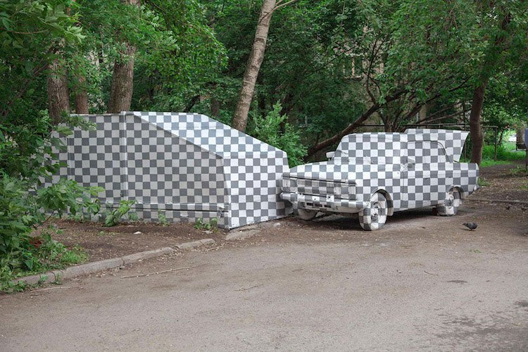Street artists have 'deleted' some of this landscape