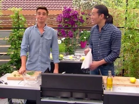 'I can see blood!' Saturday Kitchen's Donal Skehan panics as he chops finger live on TV