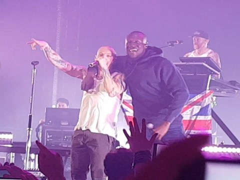 Stormzy thanks Linkin Park's Chester Bennington for being his inspiration as he shares images with the late rocker
