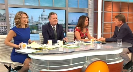 Susanna Reid 'slightly emotional' as she and Bill Turnbull are