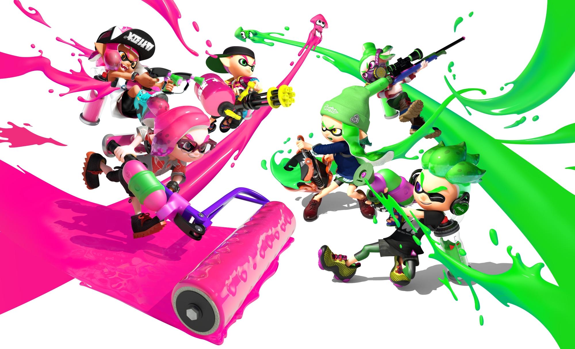 Splatoon 2 - the Nintendo Switch's next big game