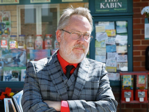 Coronation Street spoilers: Jim Moir, aka Vic Reeves, makes his debut in Norris and Mary storyline