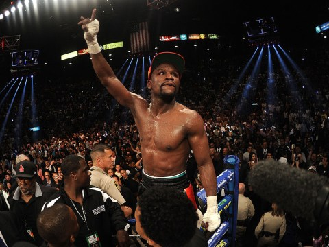 Floyd Mayweather took 496 seconds to dispose of the two other debutants he has faced