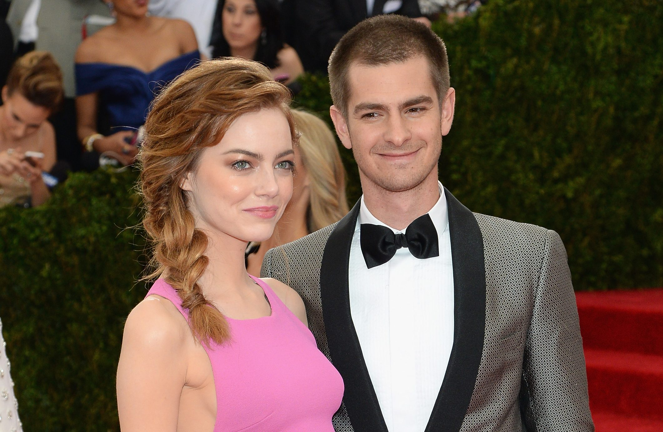 Emma Stone 'secretly visiting ex Andrew Garfield in London as pair rekindle romance two years after split'