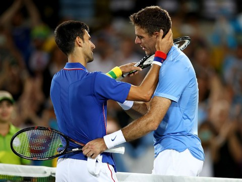 Juan Martin del Potro offers Novak Djokovic advice on how to approach break