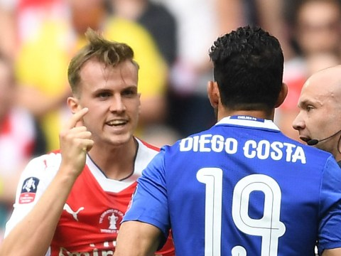 Arsenal's Rob Holding reveals how he wound up Chelsea's Diego Costa in FA Cup final win